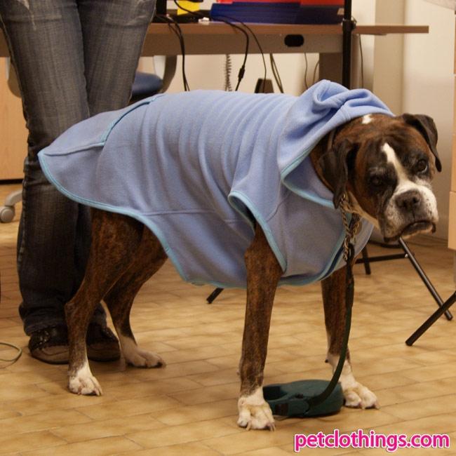 Calda felpa celeste in pile per cani di taglia grande for Recinto per cani taglia grande