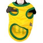 Maglia Calcio del Brasile per Cani