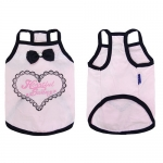 Pink Top for Small Dogs with Straps