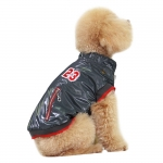 Coat for Small Dogs without Hood in Gray