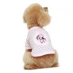 Camiseta Caniche Rosa con Lunares