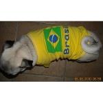 T-Shirt du Brésil pour les petites Chiens