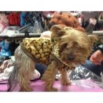 Cappotto Leopardato per cani