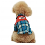 Blue Checkered Shirt for Small Dogs