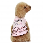 Pink Fashion Undershirt for Small Dogs