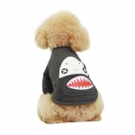 Shark Gray Sweatshirt for Small Dog