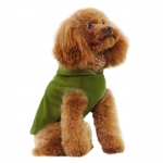 Fleece for Small Dogs in Green