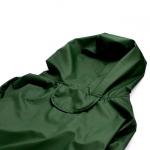 Impermeabile 4 Zampe Verde per Cane Medio e Grande