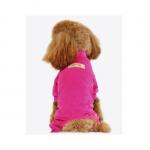 4 Legs Overall in Velvet Magenta for Small Dogs