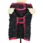 Suéter para perros Rojo y Negro