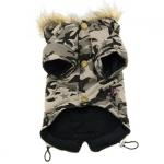 Veste de Camouflage Beige Air Force pour Chiens