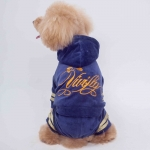 4 Legged Suit for Small Dogs in Blue