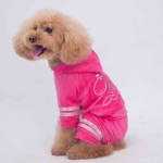 4 Legged Suit for Small Dogs in Pink