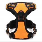 Padded Harness for Medium and Large Dogs in Orange