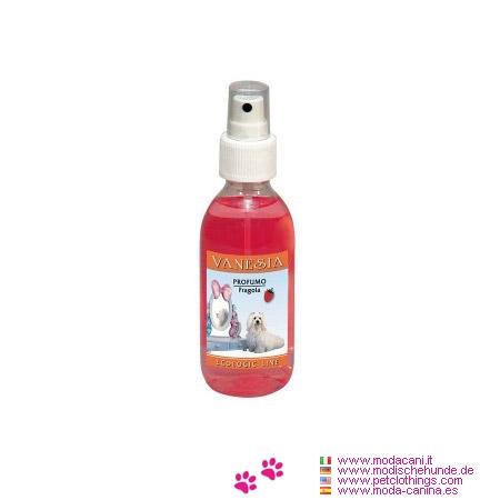 Perfume para Perros a la esencia de Fresa