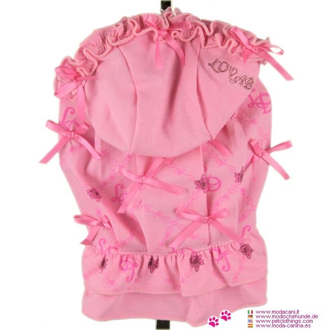 Vestido para Perros 1000 Lacitos en Rosa