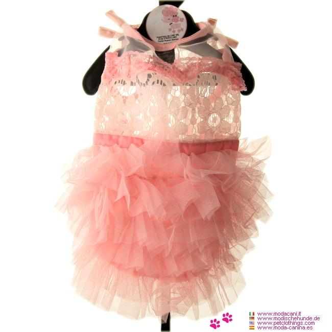 Robe rose de mariage pour petits chiens et chihuahua for Robes roses pour les mariages