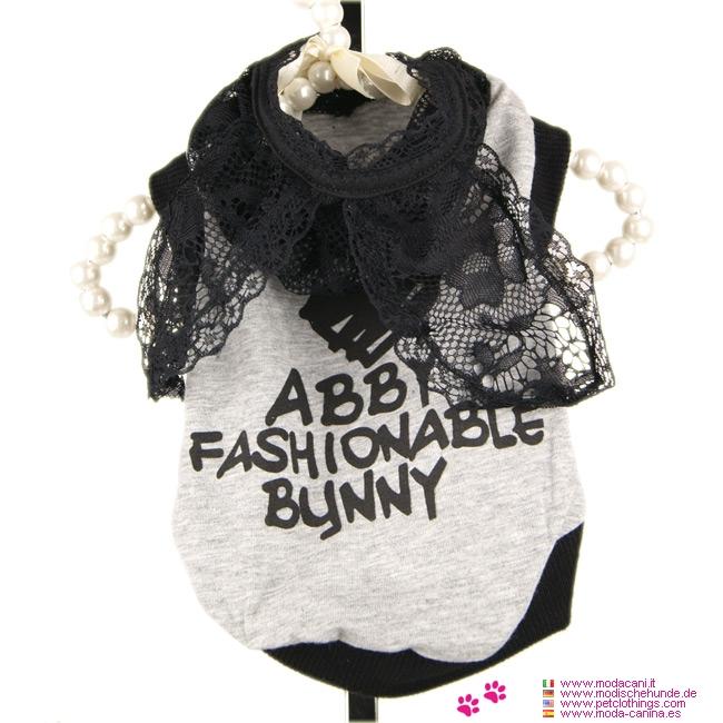 Maglietta per Cagnoline Bunny Glam