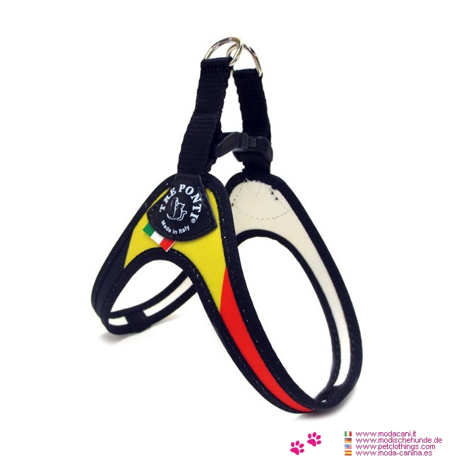 1 Click Harness Small Dogs with German Flag