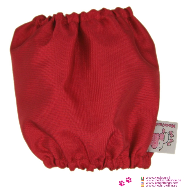 Waterproof Snoods for Dogs in Red
