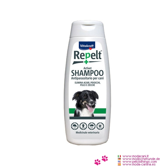 Shampooing Antiparasitaire pour Chien