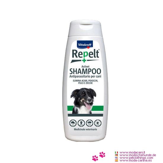 Shampoo Antiparassitario per Cani