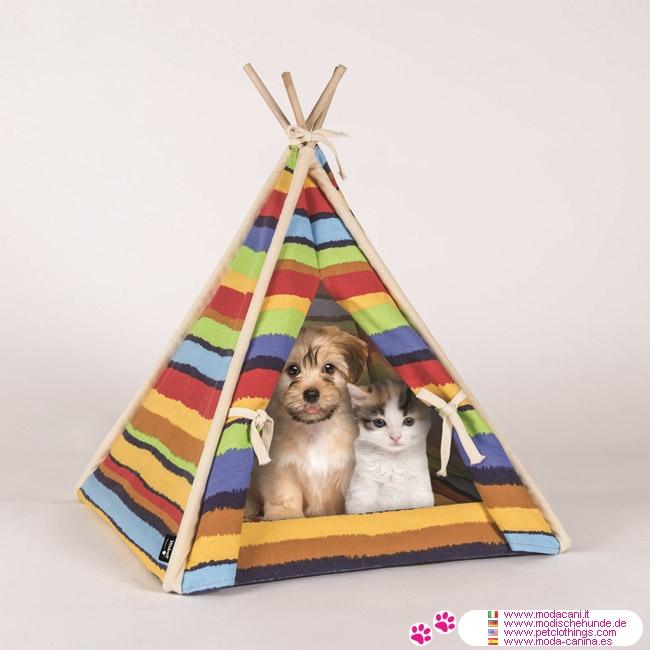 Caseta Tipi Indio para Chihuahua y Perro Pequeño