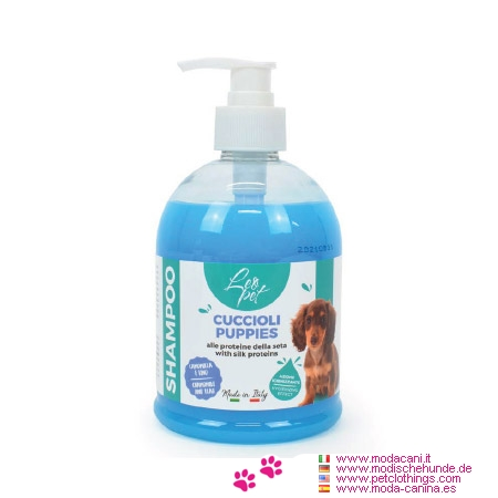 Shampoo Delicato per Cuccioli e Cani Sensibili