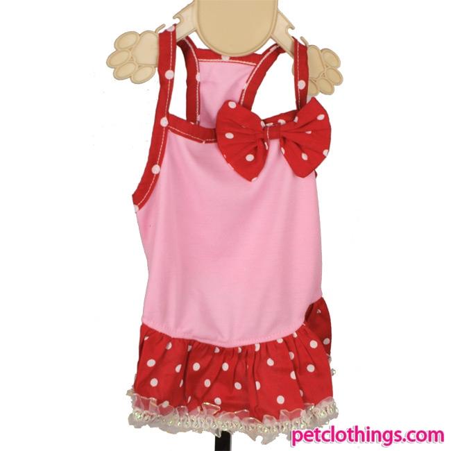 Vestido Minnie Rosa Para Perritas