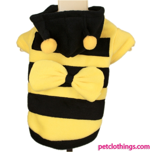 Halloween or Carnival Bee Costume for Dogs