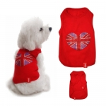 Dog Tank Top I LOVE UK in Red