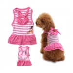 Hawaii Dog Dress in Pink