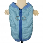 Blue Quilted Jacket for Dogs