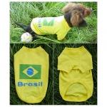 T-shirt Brésil pour Teckel