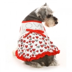 Valentine dress for dogs