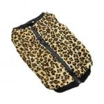 Giacca Leopardata con apertura sul dorso per cani grandi