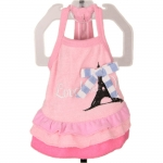 Pink Dog Dress Parisienne