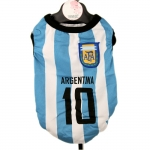 Argentina Soccer Jersey for Dogs