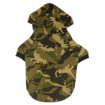 Green Camouflage Sweatshirt for Small Dogs