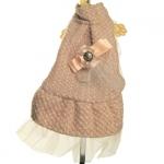 Manteau Coco Beige pour les Petits Chiens