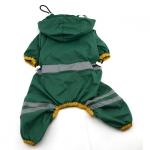 4-legged Dog Raincoat in Dark Green