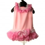 Jacqueline Pink Dress For Small Dog