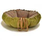 Cuccia/Cuscino per Cane Kalendula Verde e Beige