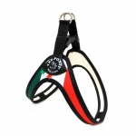 1 Click Harness Small Dogs with Italian Flag