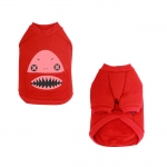 Shark Red Sweatshirt for Small Dog