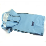 Light Blue Raincoat Small Dogs with Velcro