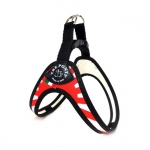 1 Click Harness Small Dogs with Japanese Flag