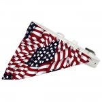 Collar para Perro con Bandana Bandera Americana