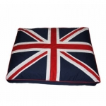 Cuscino per Cani con Bandiera Inglese