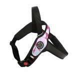 Adjustable Harness in Pink Camouflage for Big Dog
